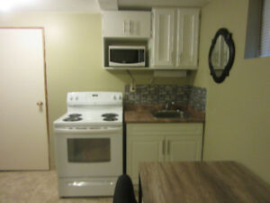 ONE BDRM SUITE, FURNISHED, ONE BLOCK TO SIAST/SASK POLYTEC