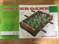Table Football Soccer Game