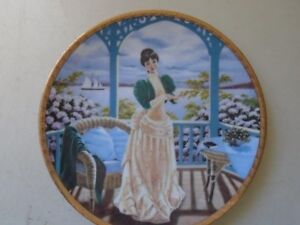 Avon  Miss Albee Collectibles Plate