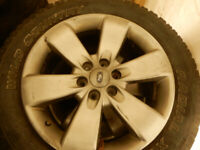 "Bring four  20"" Rims From Picture Butte to Calgary for GAS Compe"