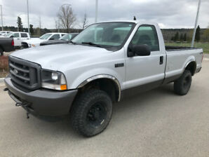 2007 Ford F-250 for sale. 4x4  regular can long box