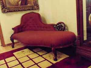 Chaise Lounger and Matching Chair