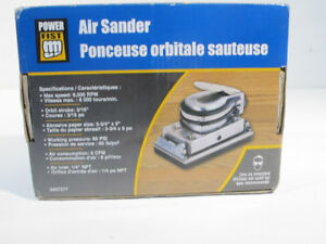 NEW Power Fist Jitterbug Air Sander