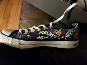 Brand New with Box, Cat Woman Converse Shoes