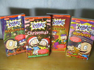 Rugrats Movies, 4 VHS NEW and sealed