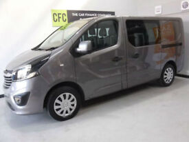 c6dca70802 2015 Vauxhall Vivaro Sportive CDTI NEW SHAPE BUY FOR ONLY £249 A MONTH