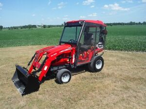 2011 Massey Ferguson GC2400 Tractor/Loader/Mower/Snowblower !!!