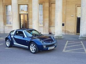 Smart Roadster Coupe - Blue - Private plate included - drives perfect