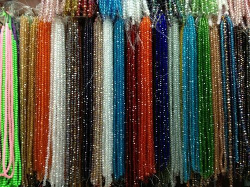 Beads - Free shipping 100-1000pcs Swarovski Crystal 4mm 5301#Bicone Beads YOU Pick color