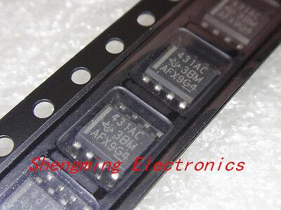 10pcs Tl431ac 431ac Tl431 Sop-8 Voltage Regulator Ic Original Ti