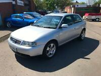Audi A3 1.6 2002 - ONLY 82K - OCTOBER MOT - BARGAIN PX TO CLEAR