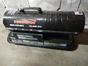 Remington Shop Heaters   2-propane 1-diesel