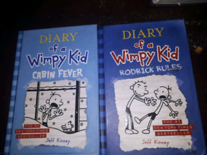 Diary of a wimpy kid rodrick rules and cabin fever