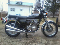 I have a 1978 cb 750 four to trade for Camaro or Mustang
