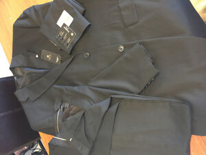 Mans black suit( jacket and pants Brand New