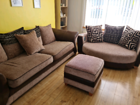 DFS sofa set