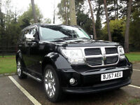LATE 2007 57 DODGE NITRO 2.8 CRD 4WD SXT TURBO DIESEL 6 SPEED MANUAL PX SWAP