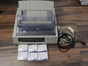 Oki Microline 320 Turbo 9 pin printer