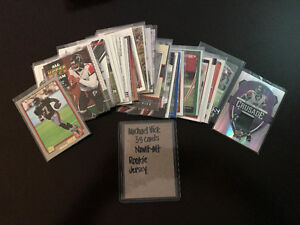 Michael Vick - 35 Cards All different; Nrmt-Mt; Rookie; Jersey