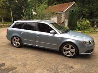 Audi a4 avant s-line px/swap van 7 seater etc