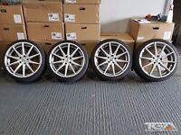 "19"" AVA New York Alloy Wheels & Tyres for an VW, Audi, Seat ETC 5x112"