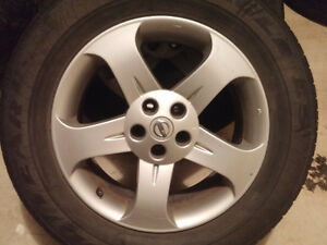 Nissan Murano/Rough/Quest/Maxima 235-65-R18, Bolt pattern 5X114