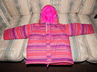 """Winter coat from """"Sport check"""" """"Columbia """"size 3T for girls ."""