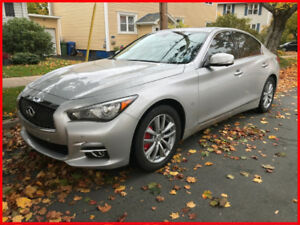 LOW KMs - WARRANTY, NO ACCIDENTS - INFINITI Q50 TECH NAVIGATION