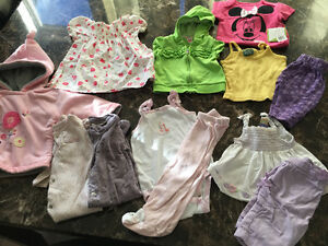 Girl's 6-9 month lot