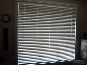 wooden blind 2 inches wide slats