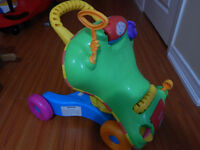 Little tikes ride on and push up toy moving sale