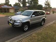 2004 Toyota LandCruiser 8 seater DVD Leather 4x4 Rooty Hill Blacktown Area Preview