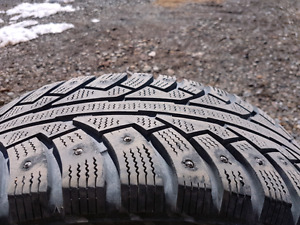215 60 R16 studded winter tires