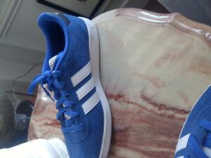 Brand new never Worn blue suede addidas