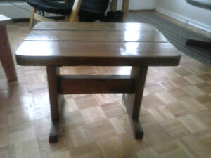 End tables - solid pine - hand made - Stratford