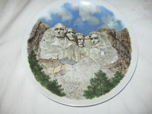 Mount Rushmore Collector Plate