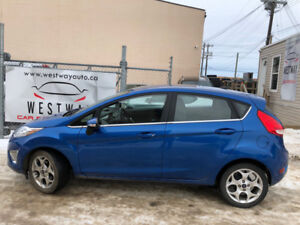 2011 FORD FIESTA SES HATCHBACK JUST HAS 136608 KMS HEATED SEATS!