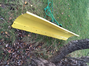 John Deere Quick Hitch and blade
