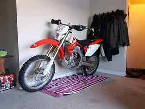2005 crf 450x low hour