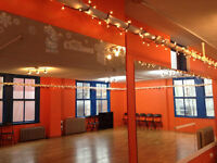 Studio reantal for dance, yoga, and private party in Gastown