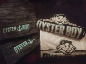 Oyster Boy Swag - Tees and Toques!