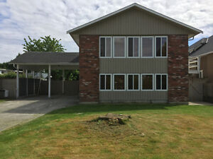 FULLY RENOVATED 2 level 4 bdrm 3 bath house. Approx 2650 sq ft.