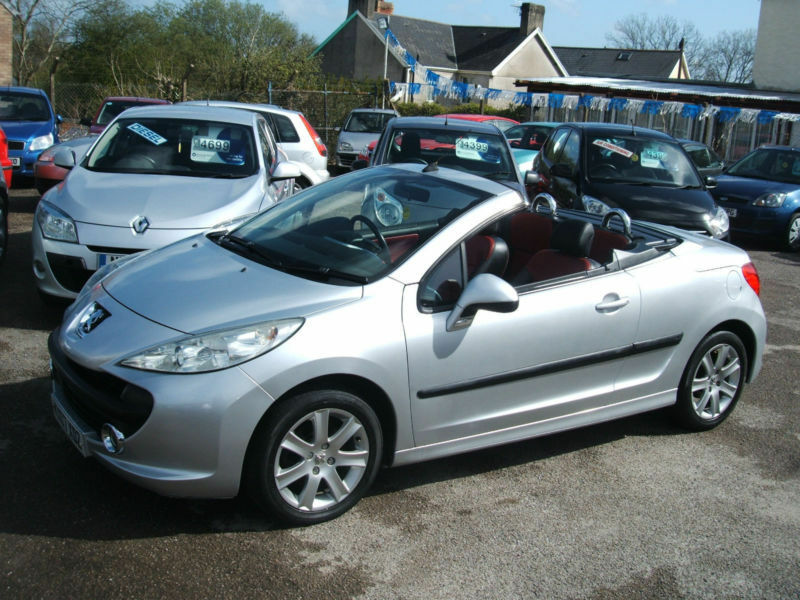 2007 peugeot 207 cc 1 6hdi coupe sport convertible diesel in bridgend gumtree. Black Bedroom Furniture Sets. Home Design Ideas