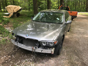2005 745i bmw full part out