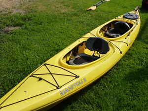 NECKY TANDEM KAYAK WITH EQUIPMENT