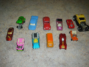 24 Vintage Collectible And Rare Toy Diecast Cars and Trucks