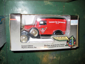 Canadian Tire 1:24 Scale Model A Delivery Van Bank