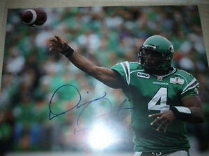 SASKATCHEWAN ROUGHRIDERS AUTOGRAPHED CFL FOOTBALL FAN PACK Edmonton Edmonton Area image 4