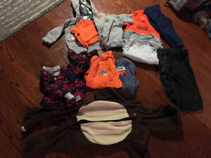 9-12 months boys fall/winter clothes