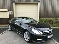 (12) 2012 Mercedes-Benz E250 2.1CDI F 7G-Tronic CDI Sport Coupe Black 2 Owner